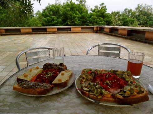 Le Terraza Auroville, Auroville food, Auroville restaurants, Auroville food