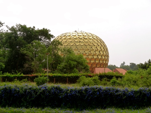 Matrimandir, Auroville architecture, Auroville photos