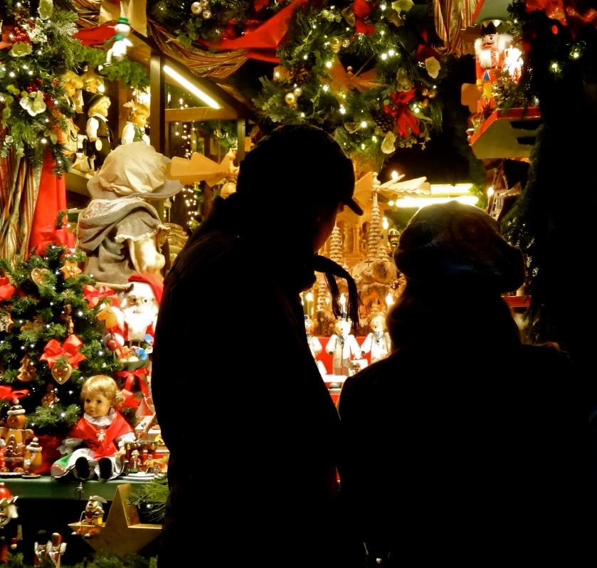 European christmas, Rothenburg christmas market, Germany winter