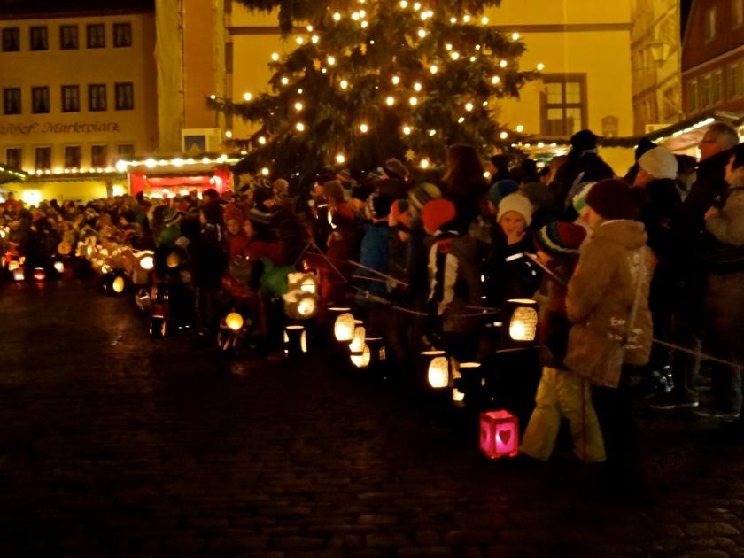 rothenburg christmas market, rothenburg, germany christmas