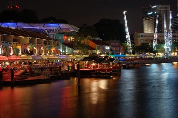 Singapore clarke quay, Clarke quay photos, singapore blogs