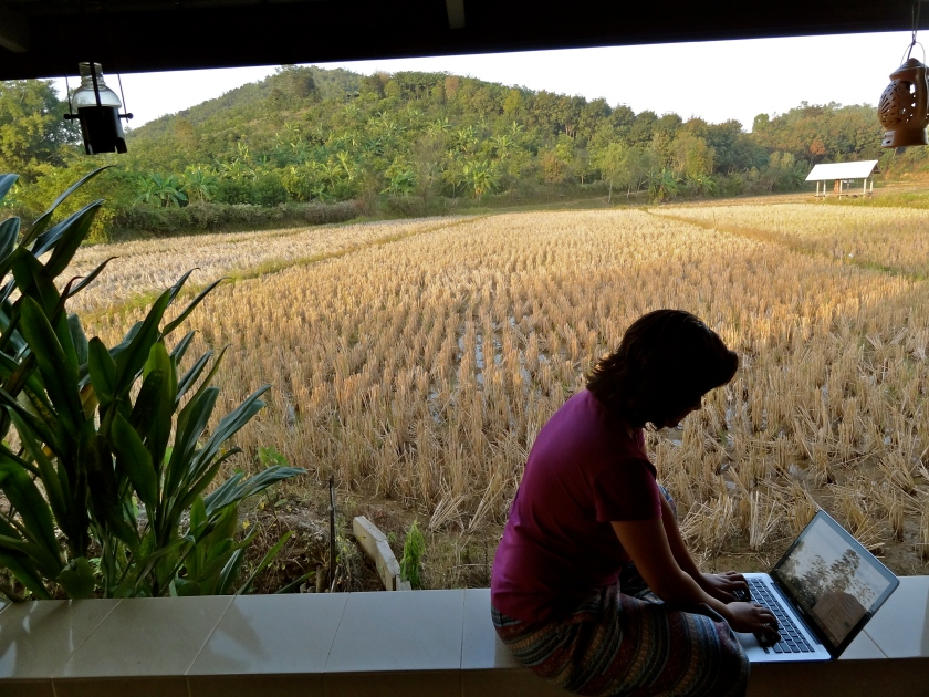 Ban lom jen homestay, northern Thailand, Thailand blog