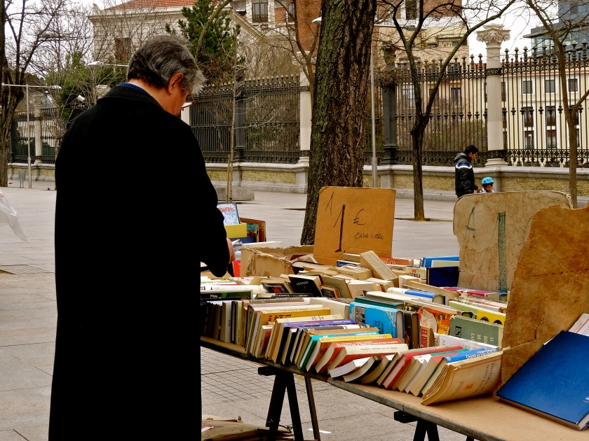 Madrid antique books market, Madrid offbeat things to do