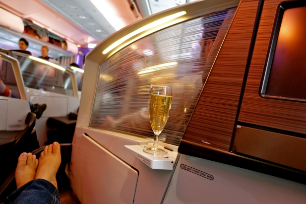 Virgin Atlantic upper class, Virgin Atlantic business class