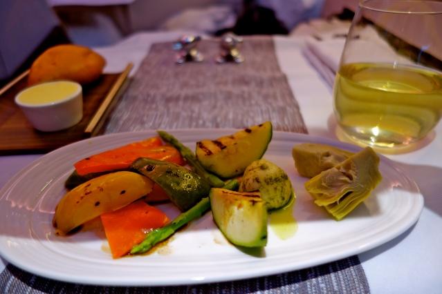 Virgin atlantic meals, Virgin atlantic food