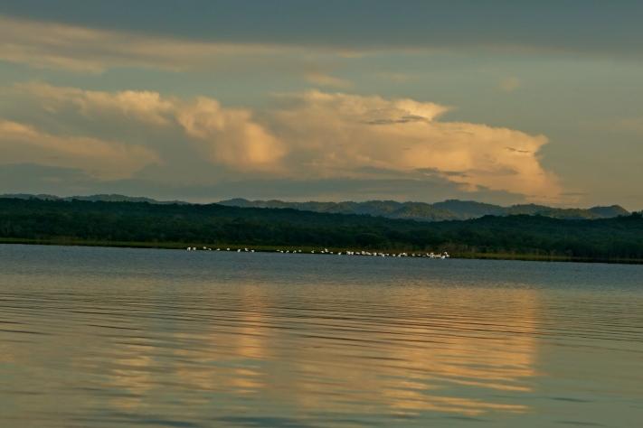 Peten Itza lake, San Jose guatemala