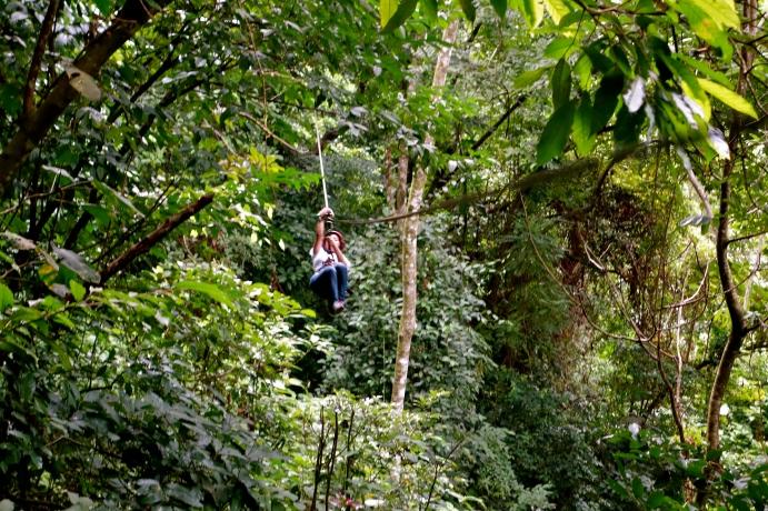 Pico Bonito Honduras, Canopying honduras, la ceiba honduras