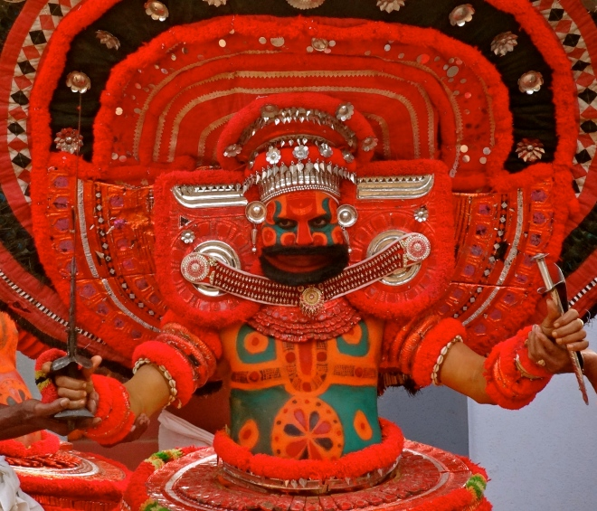 theyyam photos, theyyam kerala