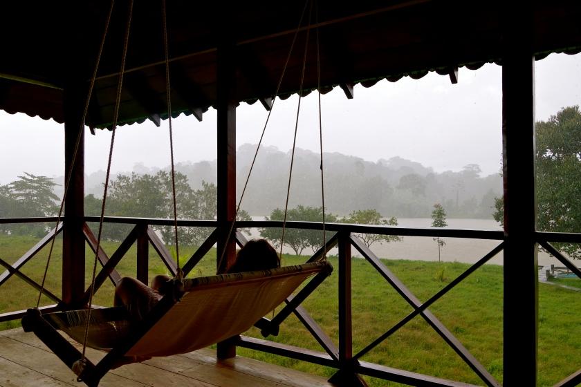 Rio San Juan Nicaragua, wood house san juan