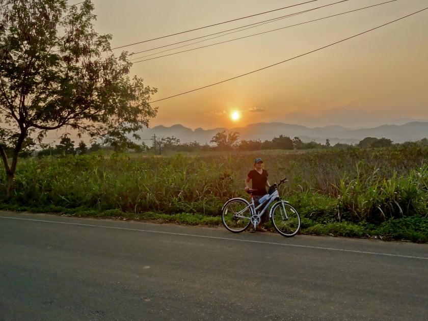 Thailand cycling, northern thailand