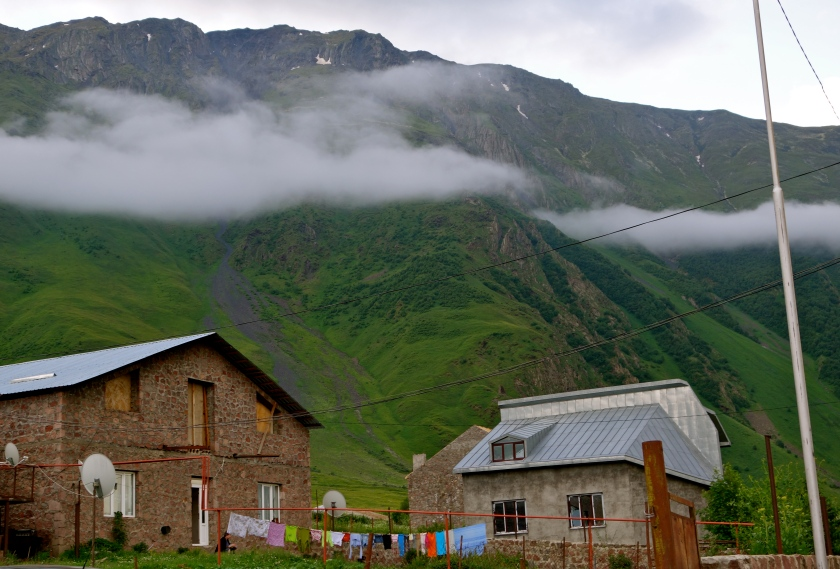 stepantsminda, kazbegi georgia, georgia country