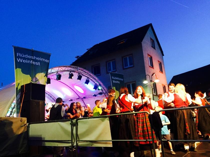 Rudesheim wine festival, germany festivals 2015