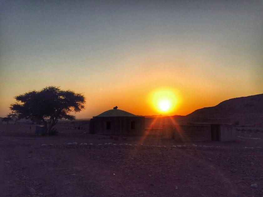 Wadi Finan, Dana biosphere reserve, Bedouins jordan