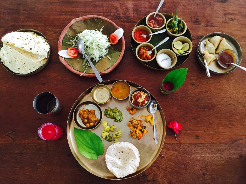Gujarati thali, Gujarat food