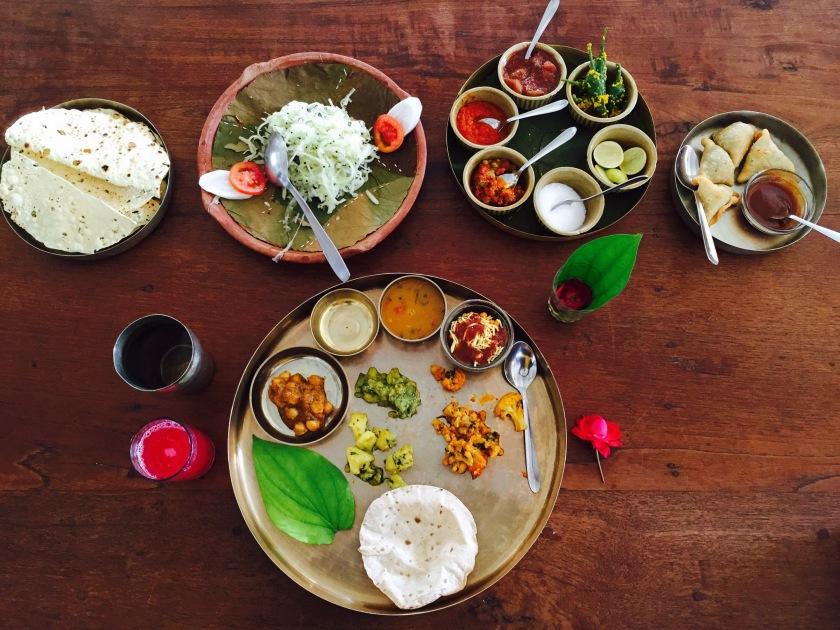 Gujarati thali, Gujarat food