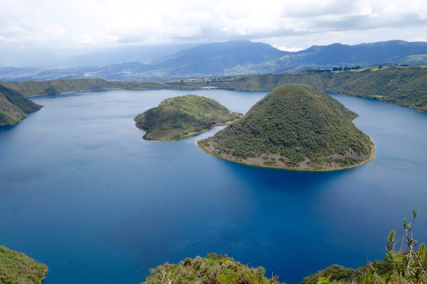 cuicocha lake ecuador, ecuador photos, ecuador solo travel