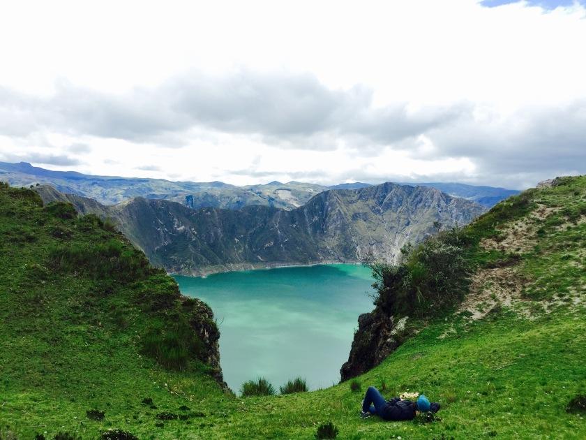 lake quilotoa, ecuador travel, places to visit in ecuador, ecuador travel blog
