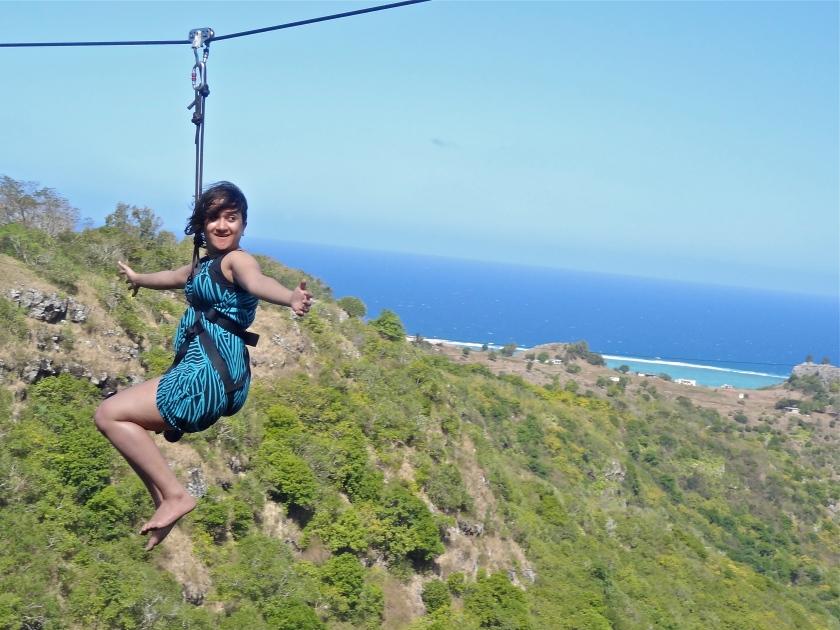 Mauritius zipline, Rodrigues island, Mauritius blogs, #MyMauritius