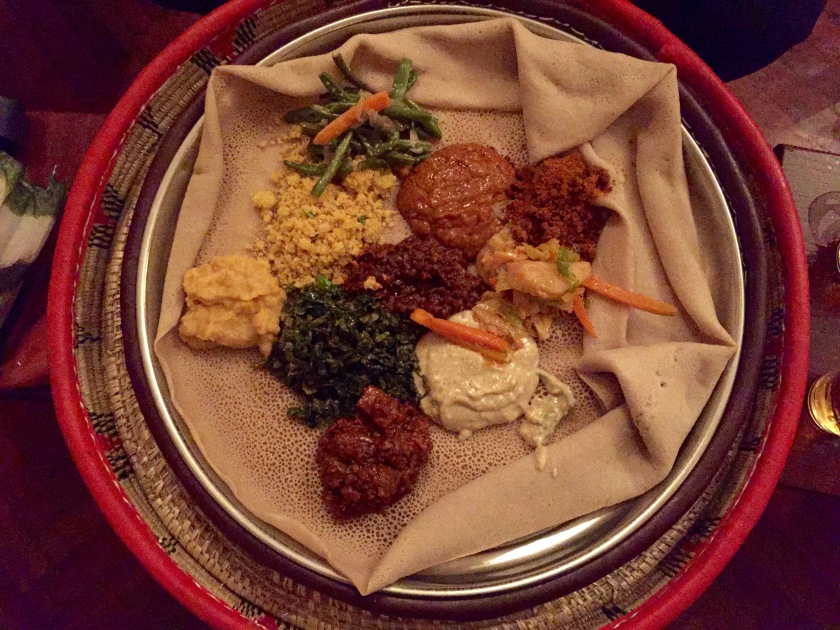 My first impressions of ethiopia the shooting star for Authentic ethiopian cuisine