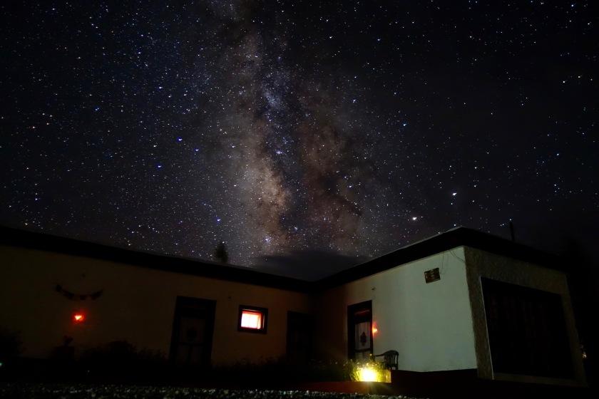 Ladakh night sky, ladakh milky way, ladakh photos, ladakh travel