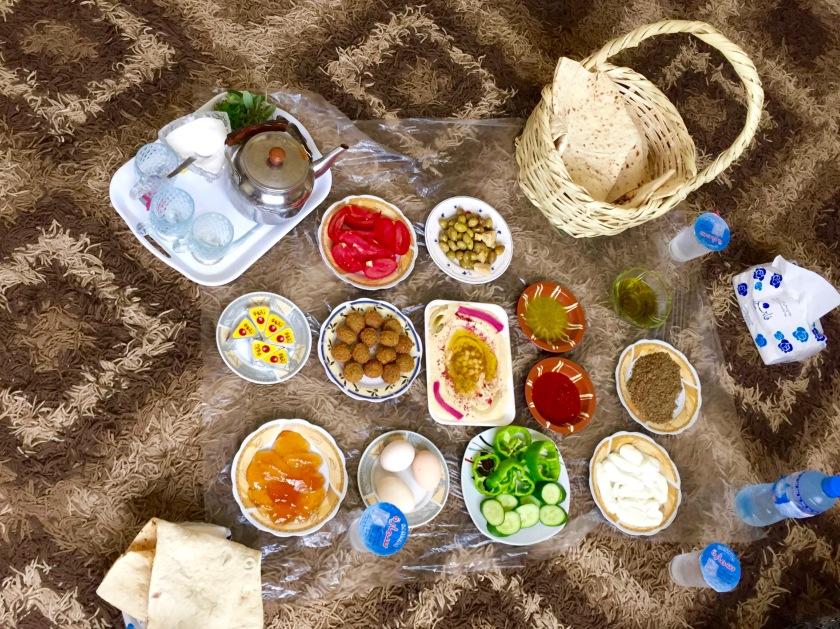 jordan food, jordan cuisine, jordan travel blogs, mezze, middle eastern food