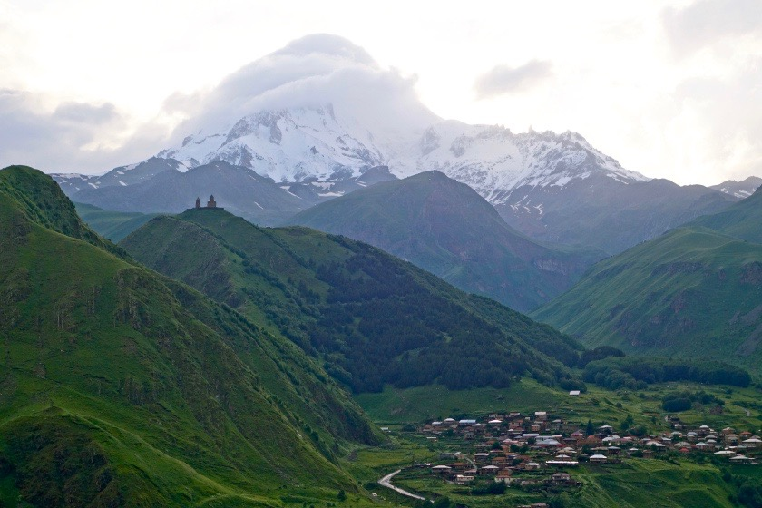 Kazbegi Georgia, georgia visa for indians