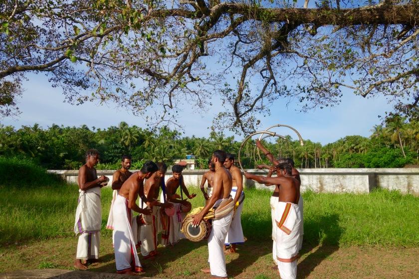 percussion music kerala, kerala for artists, responsible travel kerala