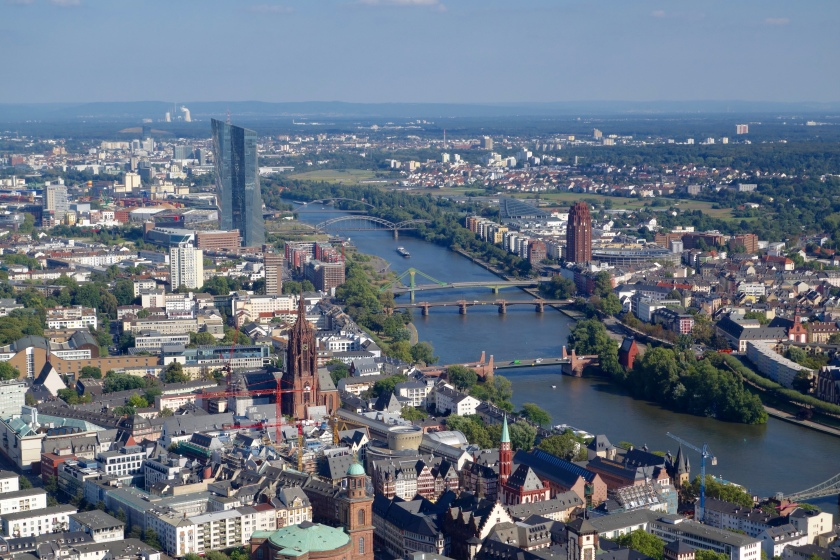 Main tower frankfurt, view from main tower, frankfurt places to visit
