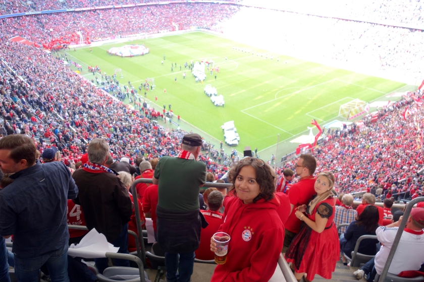 allianz arena munich, FC Bayern youth cup, Lufthansa india