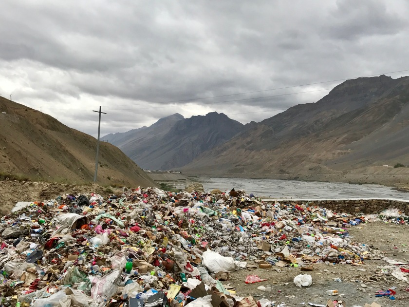 Kaza spiti, spiti trash, i love spiti, spiti photos