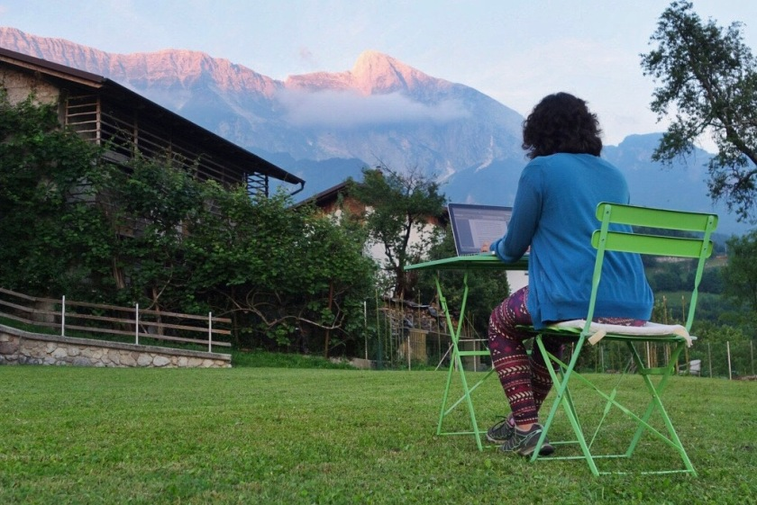 Soca valley airbnb, savli apartment slovenia, digital nomad blog