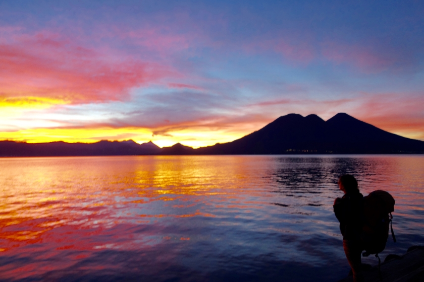 shivya nath, digital nomad, long term travel, lake atitlan guatemala