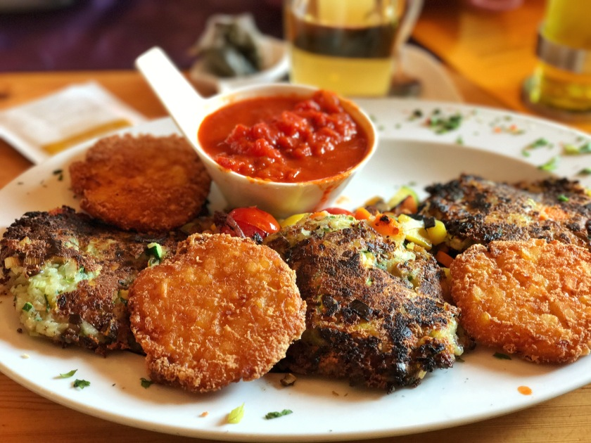 all the vegan and vegetarian food i loved in salzburg